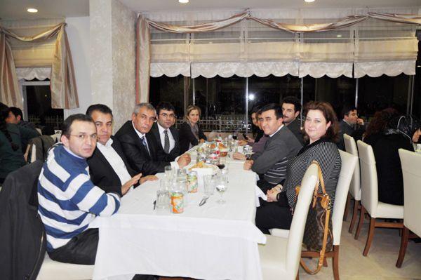 Aile Hekimleri akşam yemeğinde buluştu