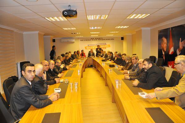 Kastamonulular AK Parti'yi bastı