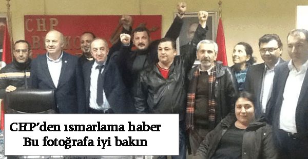 CHP Beykoz'da tüm programlar iptal