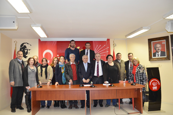 İşte CHP Beykoz'un yeni kadrosu
