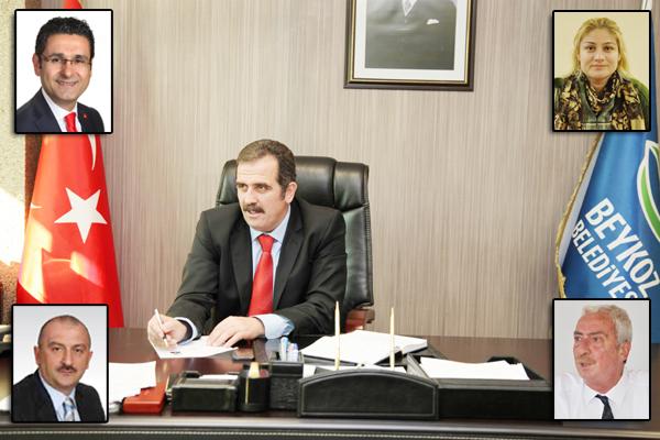 Beykoz'un İBB Meclisindeki temsilcileri