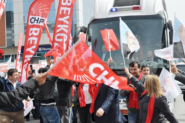 Kılıçdaroğlu Beykoz'dan Teğet Geçti
