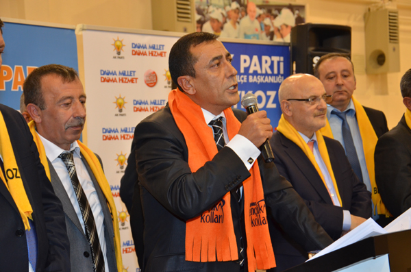 Sadık Ali Uslu, AK Parti'ye katıldı