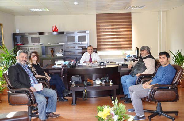 Dr. Yaşar Çelik Beykoz basınını ağırladı