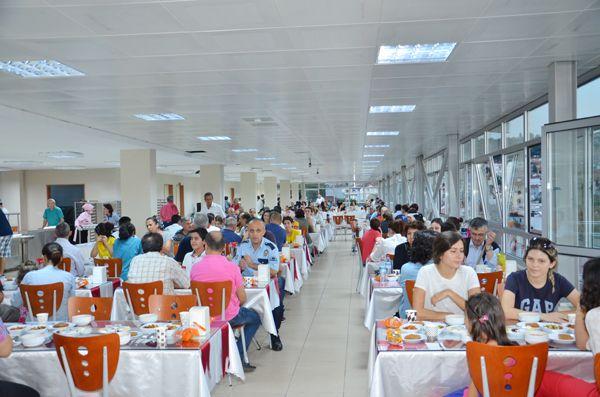 Beykoz Devlet Hastanesi'nde iftar buluşması