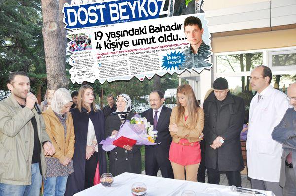 Beykoz'da ünlüler organ bağışına dikkat çekti…