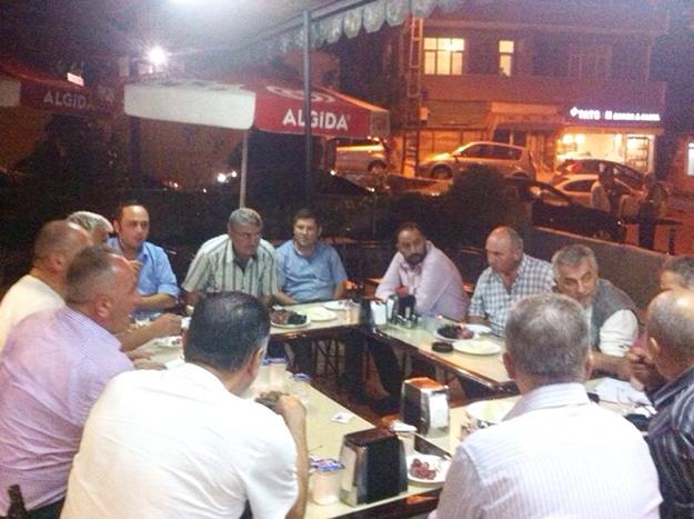 Hocaoğlu Çınar Birliği'ne konuk oldu.
