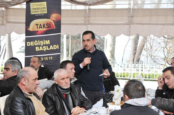Beykozlu taksicilerin sorunları masaya yatırıldı