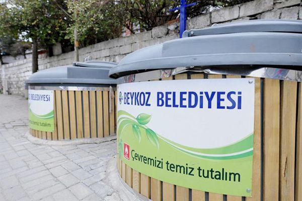 Beykoz'da her mahalleye yeraltı çöp konteyneri