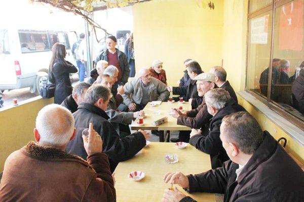 MHP Soğuksu Mahallesi'nde dert dinledi