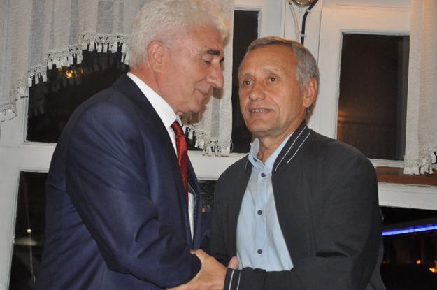 Yeni BİSK Yönetimi Asım Özdemir'i uğurladı