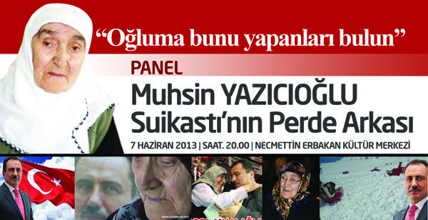 Alperenler'den Yazıcıoğlu suikastının perde arkası