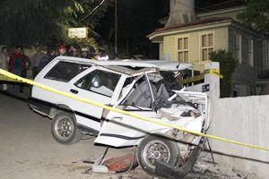 Akbaba Köyü'nde trafik kazası: 1 ölü