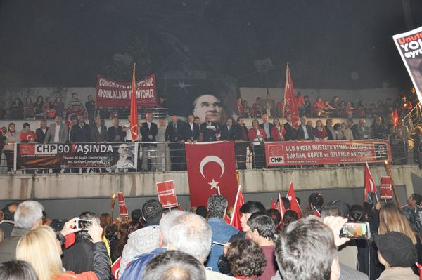 CHP Cumhuriyet için yürüdü…
