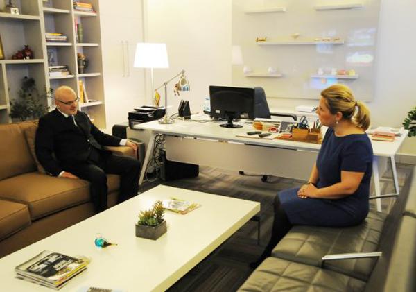 Başkan Çelikbilek NTV'ye konuk oldu