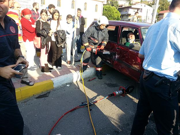 Ehliyetsiz genç sürücü dehşet saçtı…