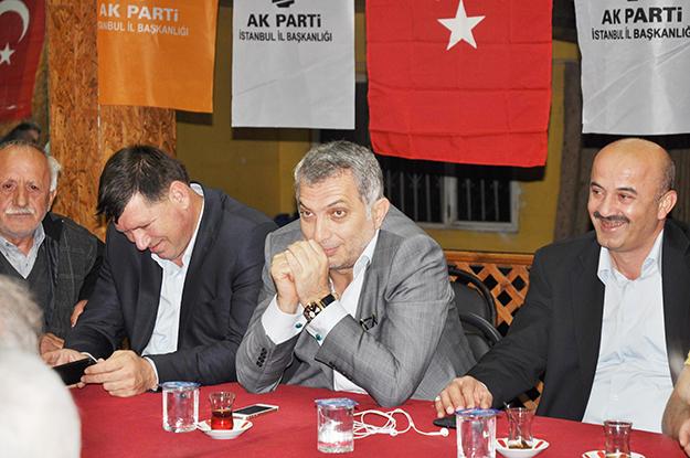 AK Partili Metin Külünk'ten Soğuksu'da 'sıcak' sohbet
