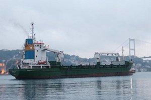 Beykoz'da yük gemisi karaya oturdu