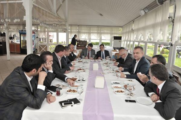 Belediye Başkanları Beykoz'da buluştu