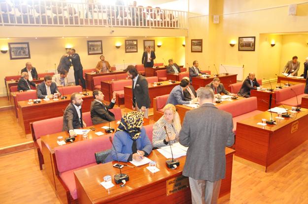 Beykoz Belediye Meclisi'nde bütçe arası