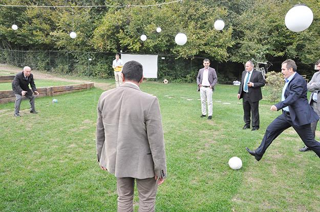 Kelebek çiftliğinde penaltı atışı... AK Parti: 1 - CHP: 1