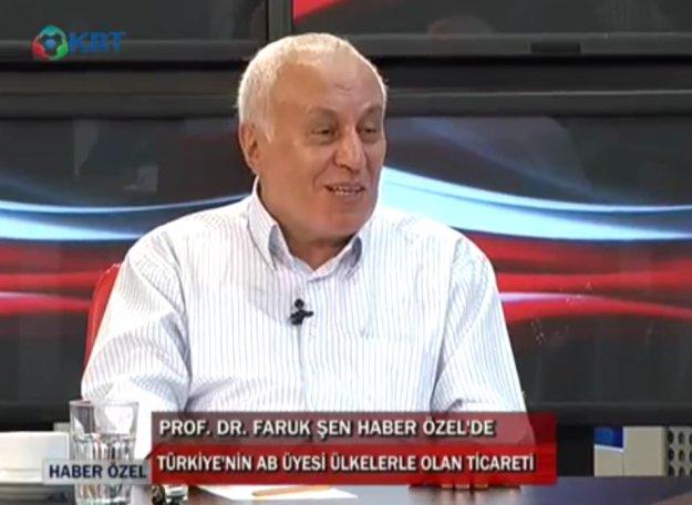 Prof. Faruk Şen, AB'yi anlattı