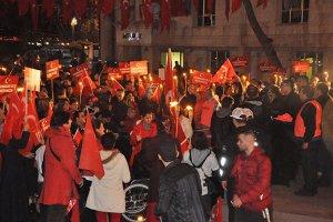 Beykoz, Cumhuriyet Yürüyüşü'nde TEK SES oldu...