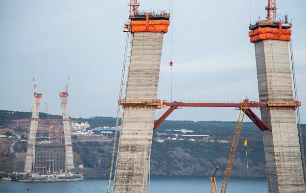 3. Boğaz Köprüsü zirveye ulaştı!