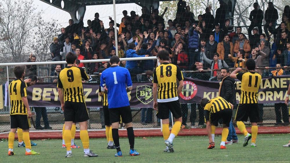 Beykoz 1908 AŞ'den Fetihspor'a farklı tarife: 6 - 0