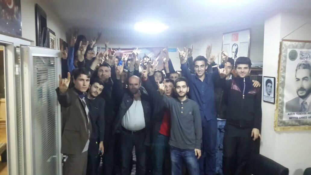 Beykozlu Ülkücüler Türkeş'i yaddetti