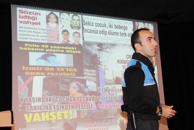 Emniyetten 'çocuk istismarı' semineri