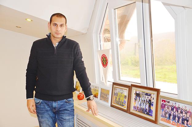 Beykozspor'un genç antrönörü gençlere güveniyor