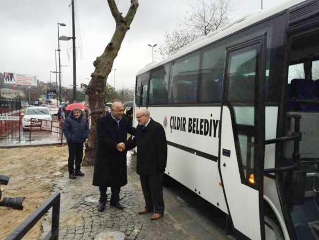 Beykoz Belediyesi'nden Çıldır'a otobüs
