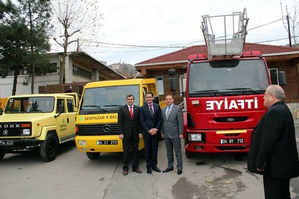 Beykoz Belediyesi'nden Şenpazar'a üç araç