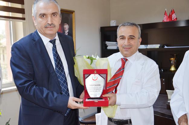 Beykoz Devlet Hastanesi'nde devir teslim yapıldı