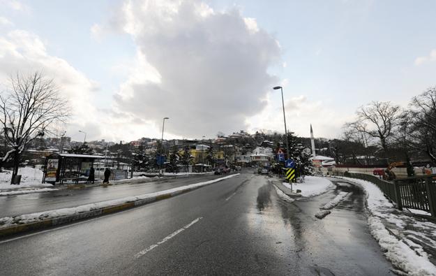 Beykoz'da kar hazırlıkları tamamlandı