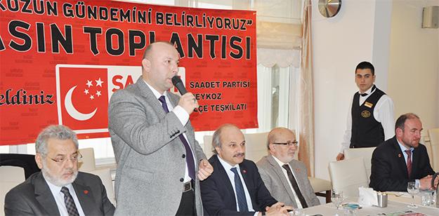 SP Beykoz'da gazetecileri kutladı