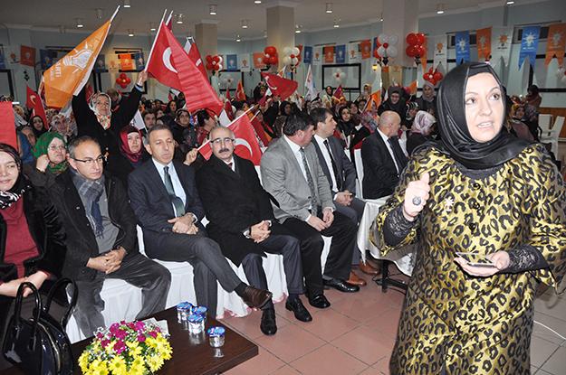 Beykoz AK Parti Kadın Kolları Kongresi yapıldı