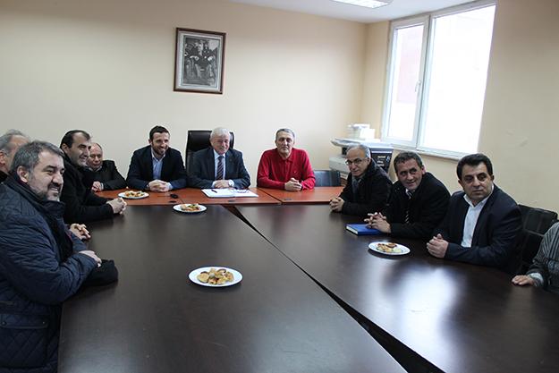 Beykoz Dernekler Birliği'nden siyasi partilere ziyaret