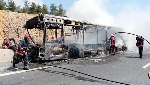 Dehşet otobüse 22.5 yıl hapis istendi