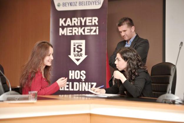 Beykoz'da 1500 kişi iş sahibi oldu
