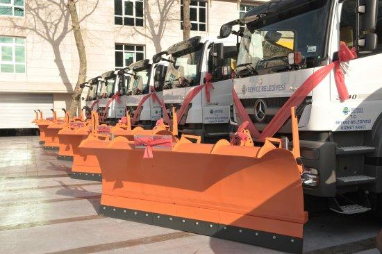 Beykoz Belediyesi'nin araç filosu güçleniyor