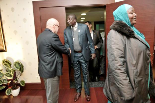 Nijer Büyükelçisi'nden Başkana ziyaret