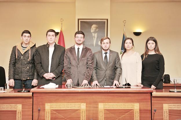 Beykoz Gençlik Meclisi Başkanı'nı seçti
