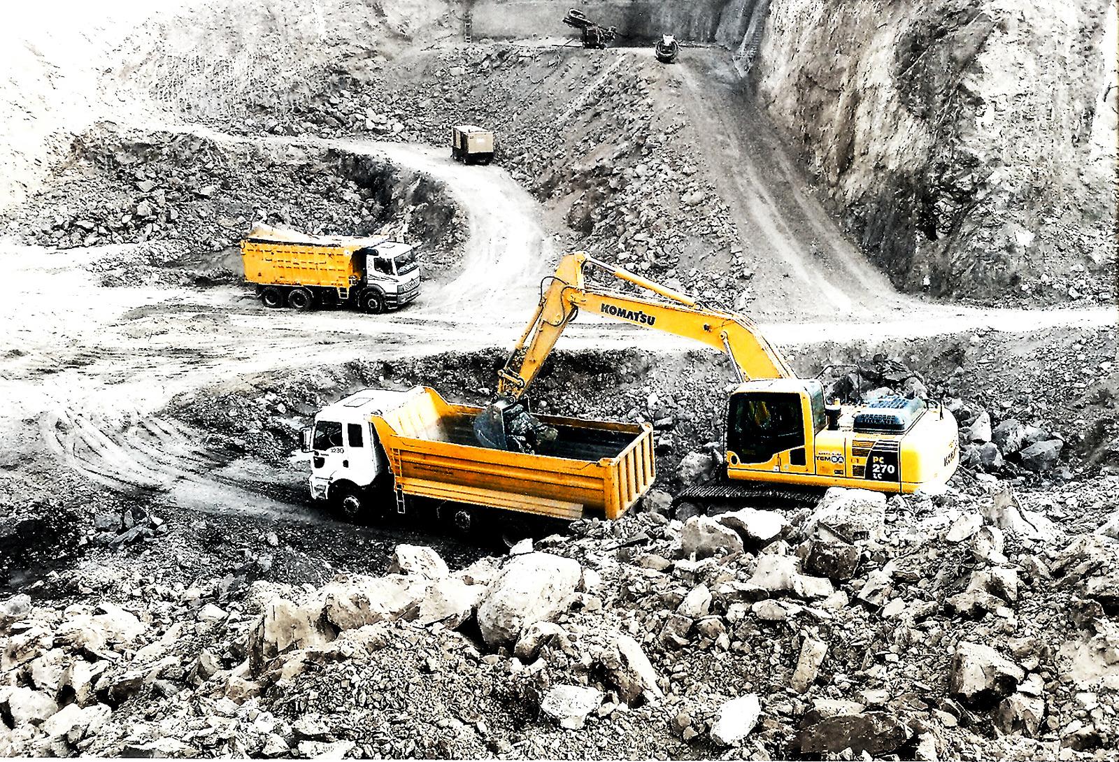 Beykoz'da eski maden ocakları hafriyatla doldurulacak