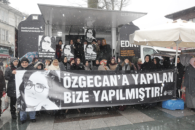 AK Partili kadınlar, 'idam cezası geri getirilsin' dedi.