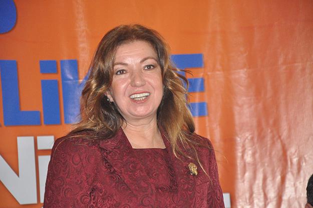 Beykoz AK Parti'de 2'nci isim: Nevin Çalışkan