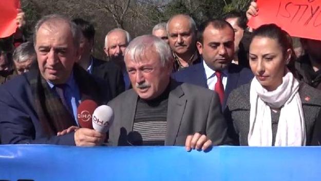 CHP Beykoz, Riva zehrine 'dur' dedi