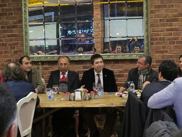 Prof. Yenidünya Beykoz'da hemşerileriyle buluştu