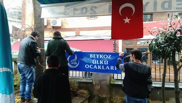 Beykoz Ülkü Ocakları, Fırat Çakıroğlu'nu unutmadı